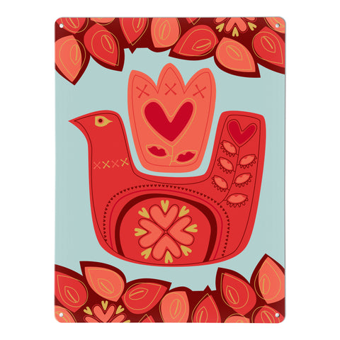 Love Bird magnetic notice board design by Beyond the Fridge