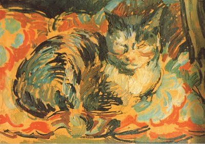 Opussyquinusque, The Cat c. 1932 - Duncan Grant (1885-1978)