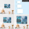 Ten Bottles Design Magnetic Board Size Options