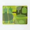 Ten Green Bottles Design Magnetic Memo Board