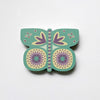 Aqua Butterfly Fridge Magnet by Beyond the Fridge