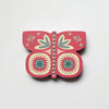 Pink Butterfly Fridge Magnet by Beyond the Fridge  Edit alt text