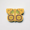 Yellow Butterfly Fridge Magnet by Beyond the Fridge