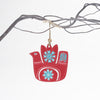 red snowbird christmas tree decoration