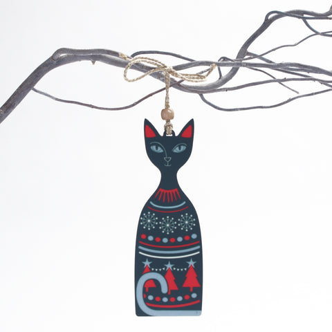Christmas Cat Christmas Tree Decoration