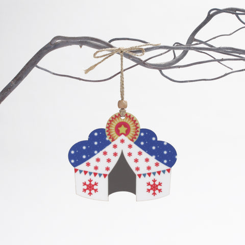 Christmas Tent Tree Decoration