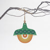green retro pendant light design christmas decoration
