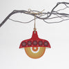 red retro pendant light design christmas decoration