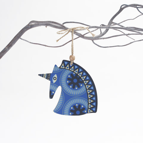 Unicorn Christmas Tree Decoration