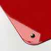 keep calm and carry on red design magnetic memo board corner detail