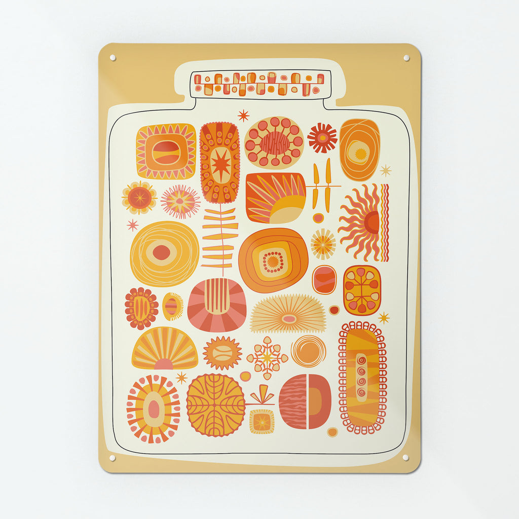 Lucky Jar Suns Magnetic Board
