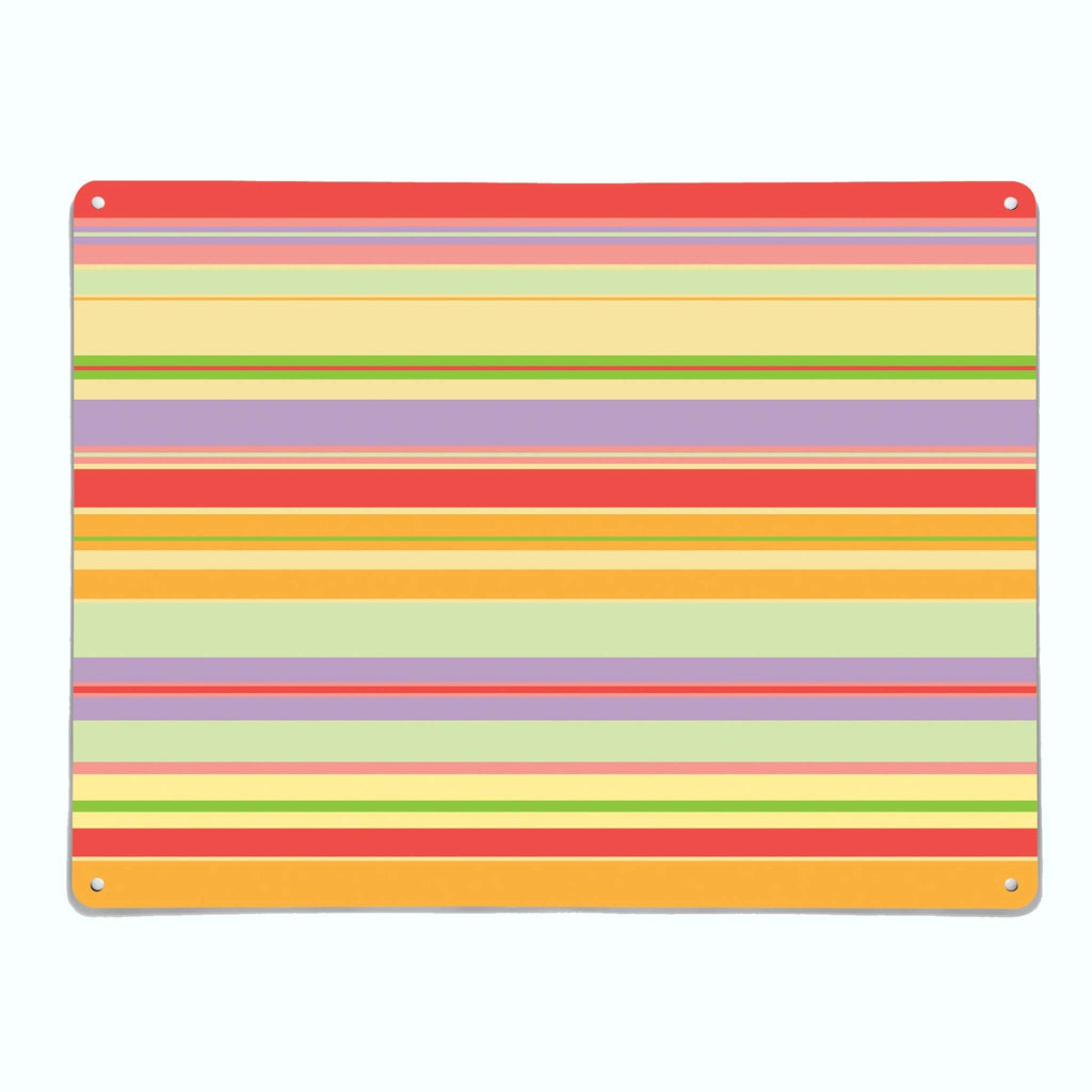 Stripes Pick 'n' Mix Magnetic Notice Board
