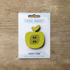 Apple design fridge magnet in golden delicious colour by Beyond the Fridge