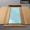 Plain Blue magnetic dry erase board in packaging