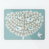Blue Birds in a Tree Magnetic Board