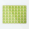 citrus bird repeat design magnetic board lemon and lime colour way