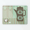 Coffee Pot Green Magnetic Board
