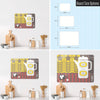 Coffee Pot Design Magnetic Board Size Options