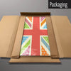 Cool Britannia Fruity magnetic board in packaging