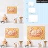 Crab Illustration Magnetic Board Size Options