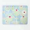 Cupcake Plant Blue Magnetic Board