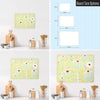 Cupcake Plant Design Magnetic Board Size Options