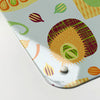 exotic fruit design magnetic memo board  corner detail