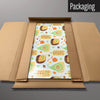 Exotic Fruit Design magnetic board in packaging