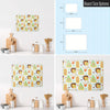Exotic Fruit Design Magnetic Board Size Options