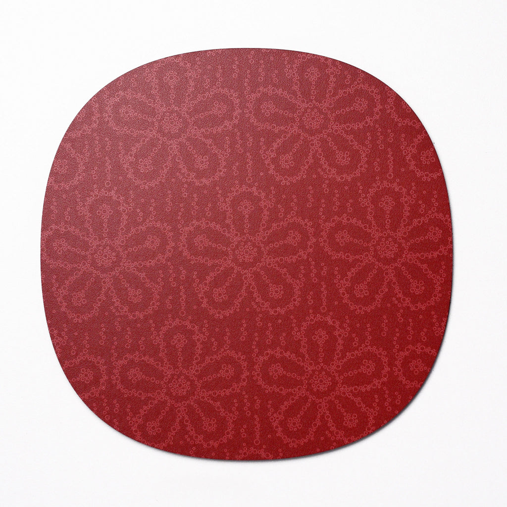 Fizzy Flower design placemat - Cherryade