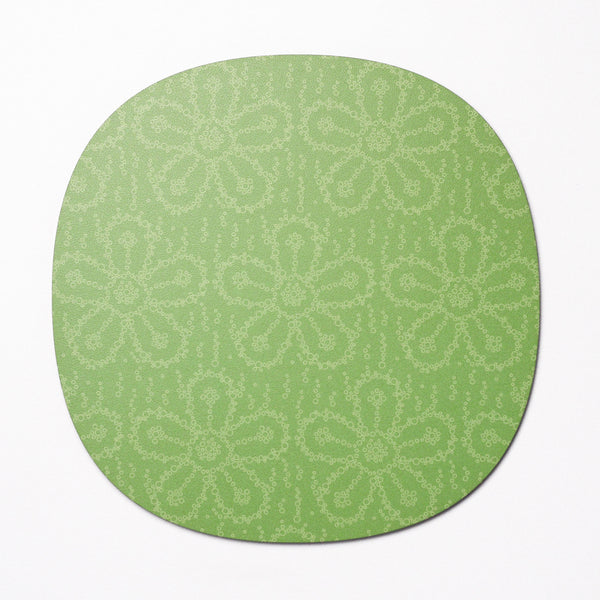 Fizzy Flower design placemat - Lime Soda