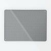 Gingham black and white Magnetic Notice Board