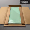 Plain Green magnetic dry erase board in packaging