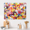 Jelly Beans Magnetic Board in a Kitchen Setting