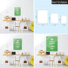 Green Keep Calm and Carry on Magnetic Board Size Options