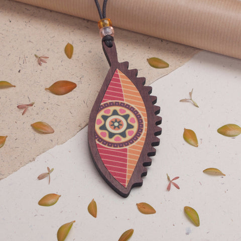 Leaf Design - Pendant