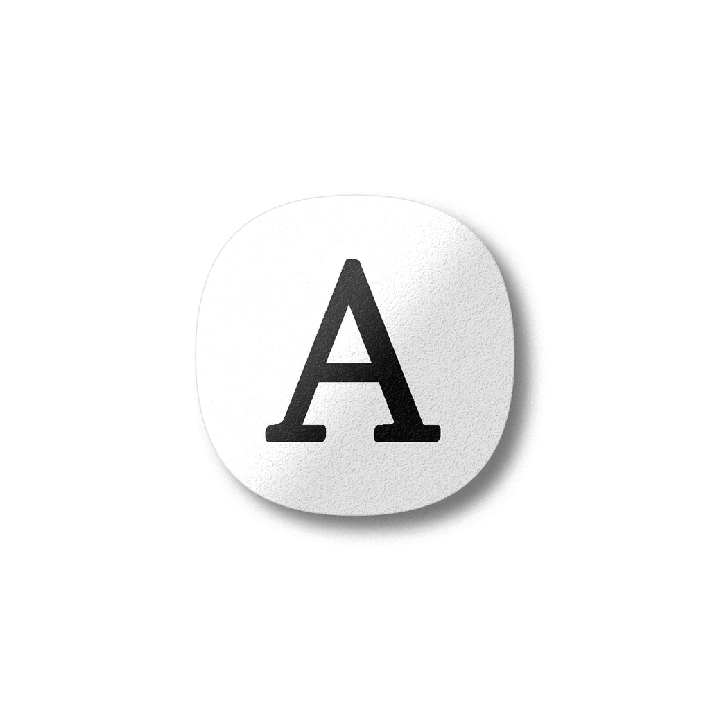 Letter A Fridge Magnet by Beyond the Fridge