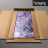 Lilac Flowers magnetic board in packaging