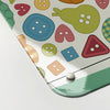 luck jar buttons design magnetic memo board  corner detail