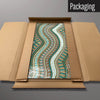 Mosaic Wave River magnetic board in packaging