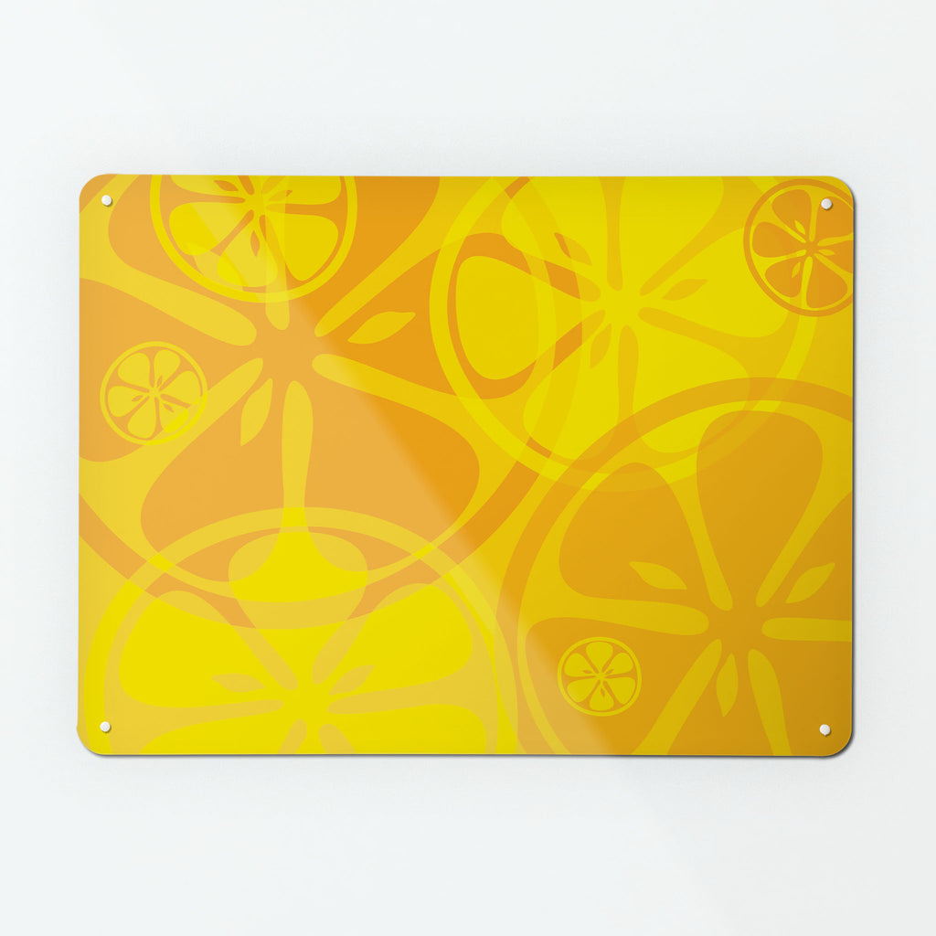 Oranges and Lemons Magnetic Board