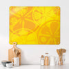 oranges and Lemons Design Large Magnetic Board in a kitchen setting