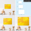Oranges and Lemons Design Magnetic Board Size Options