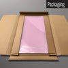 Plain Pink magnetic dry erase board in packaging