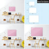 Plain Pink Magnetic Board Size Options