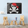 Jolly Roger Design Magnetic Board in a workspace setting