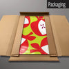 Red Apples magnetic board in packaging