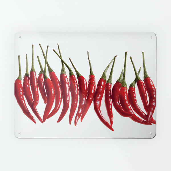 Red Chillies Magnetic Notice Board