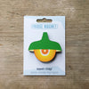 Green Retro Pendant Lamp Fridge Magnet by Beyond the Fridge