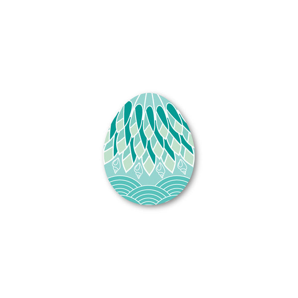 Seabird Egg shaped coaster